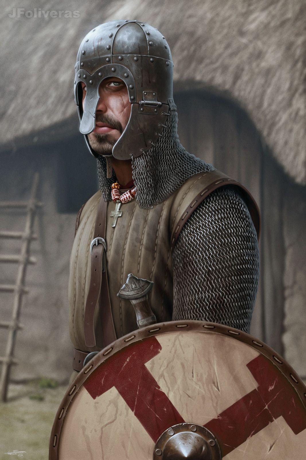 Anglo Saxon Thegn Joan Francesc Oliveras Pallerols On