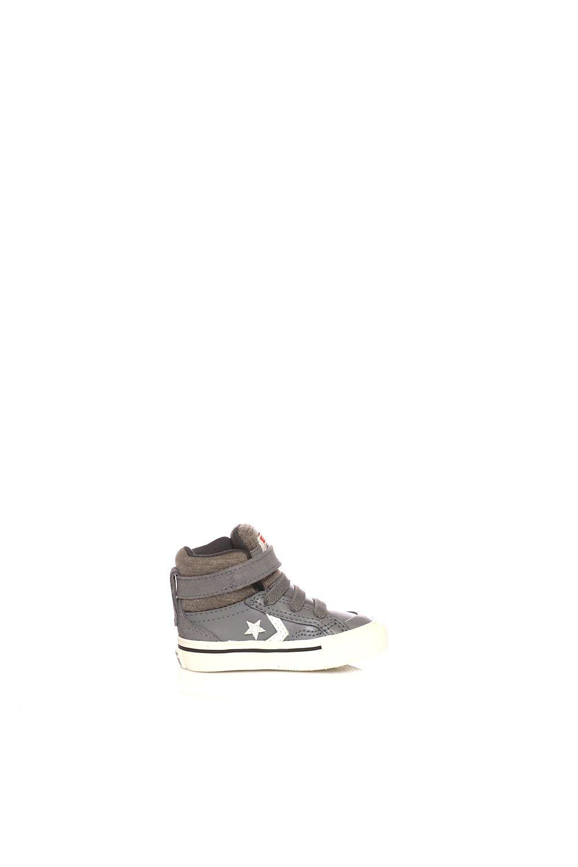 CONVERSE – Βρεφικά παπούτσια CONVERSE Pro Blaze Strap Stretch Hi καφέ  Παιδικά Baby Παπούτσια b6077c691f9