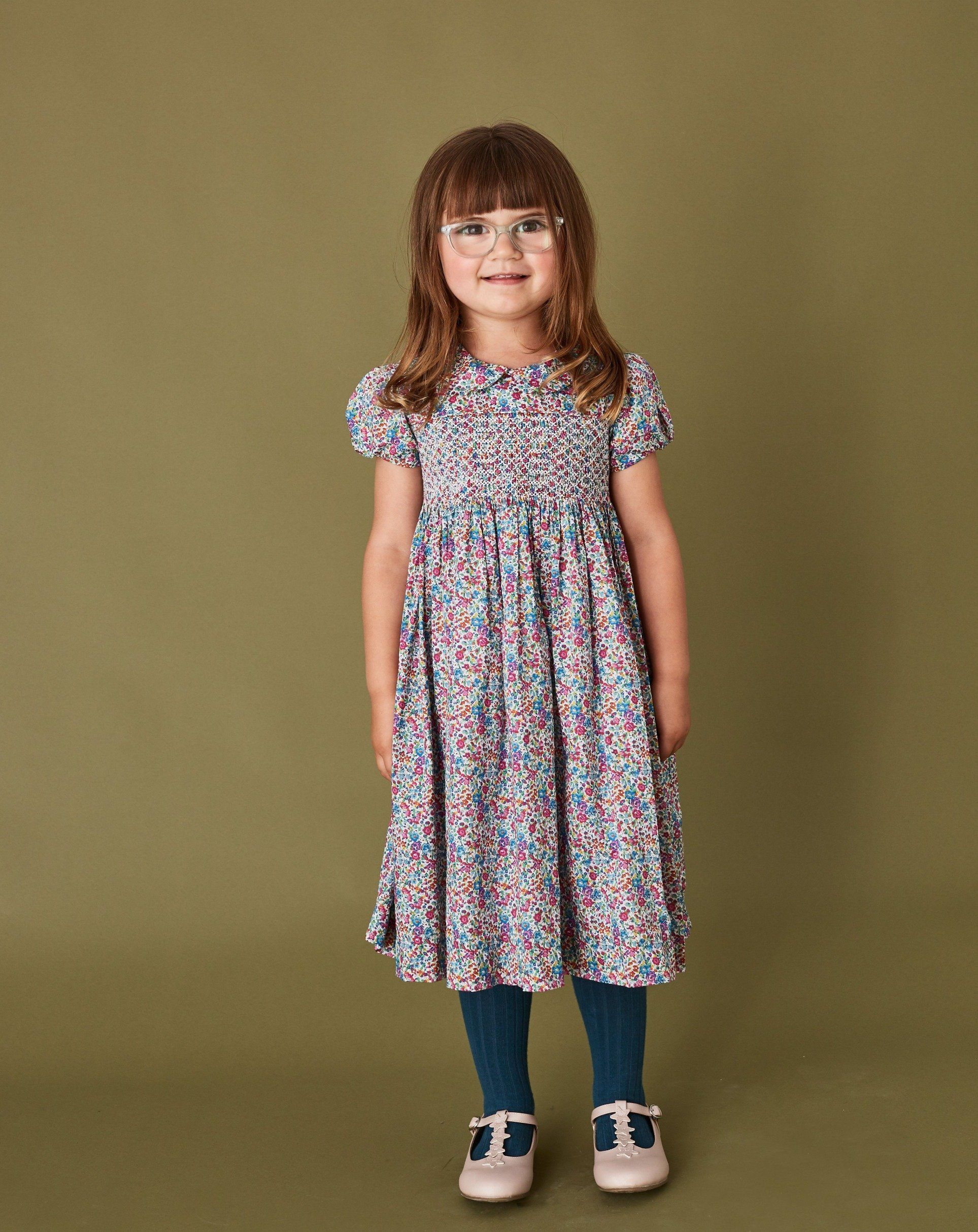 Liberty Print Girls Dress - Catalina - 5-6