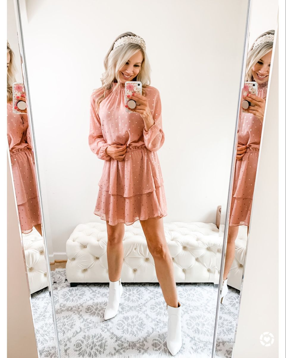 Spring Outfit Ankle Boots Dress Outfit Summer Boots Outfit Business Outfits Women [ 1200 x 961 Pixel ]