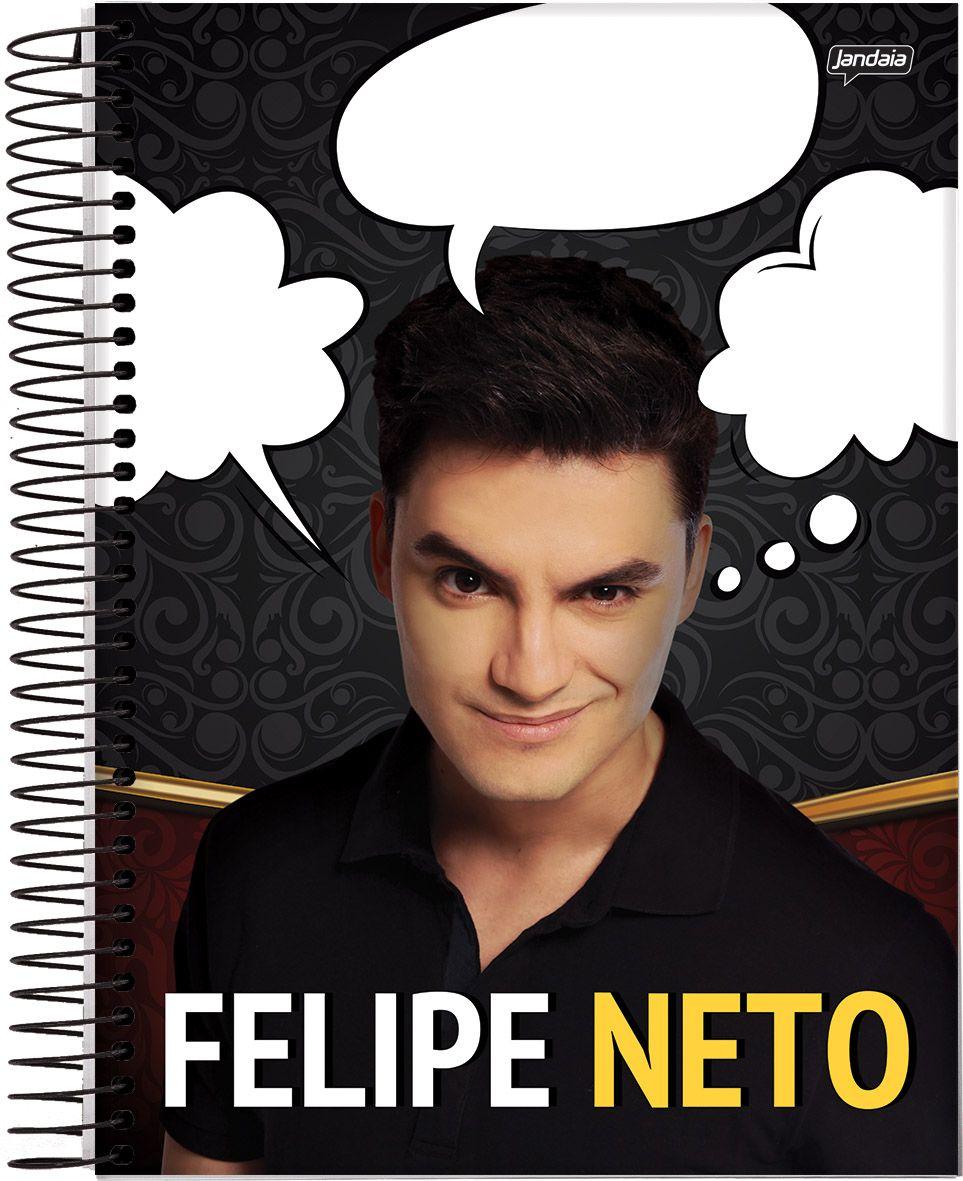 Kefera Felipe Neto E Outros Youtubers Estampam Capas De Cadernos