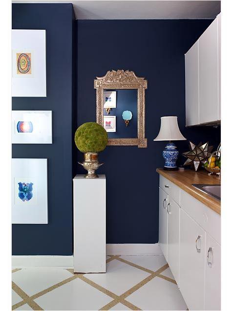 Navy Blue Paint