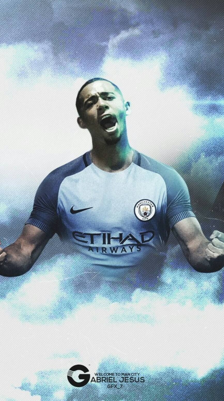 Wel e to City Gabriel Jesus ⚽ ⚽ Football