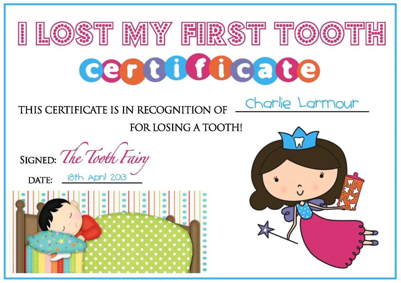 Tooth fairy certificate teddy bear tales first lost tooth tooth fairy certificate teddy bear tales first lost tooth xflitez Choice Image