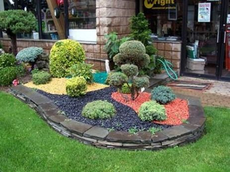 Fabulous Recycled Decorative Garden Unique Stones Decoration Ideas