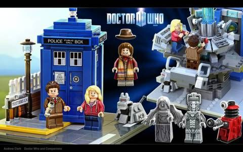 Doctor Who Lego Ideas