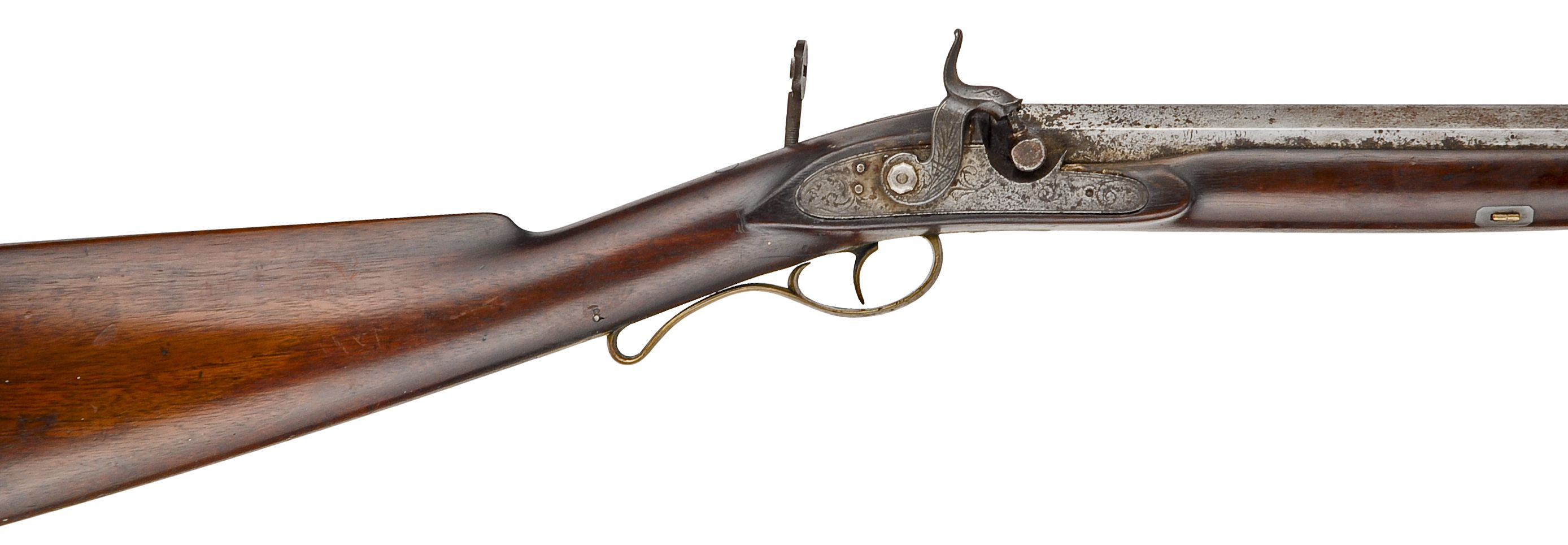 A Billinghurst Rifle; the kind of arm brought from home for use in units like Berdan's.