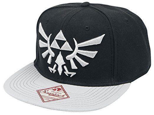 The Legend of Zelda Logo Snapback-Cap schwarz