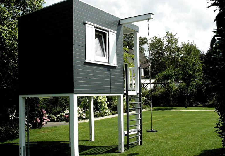 Kidscube Design Kinderhaus Gardomo Garten Design Inspiration Modern Playground Backyard For Kids Play Houses