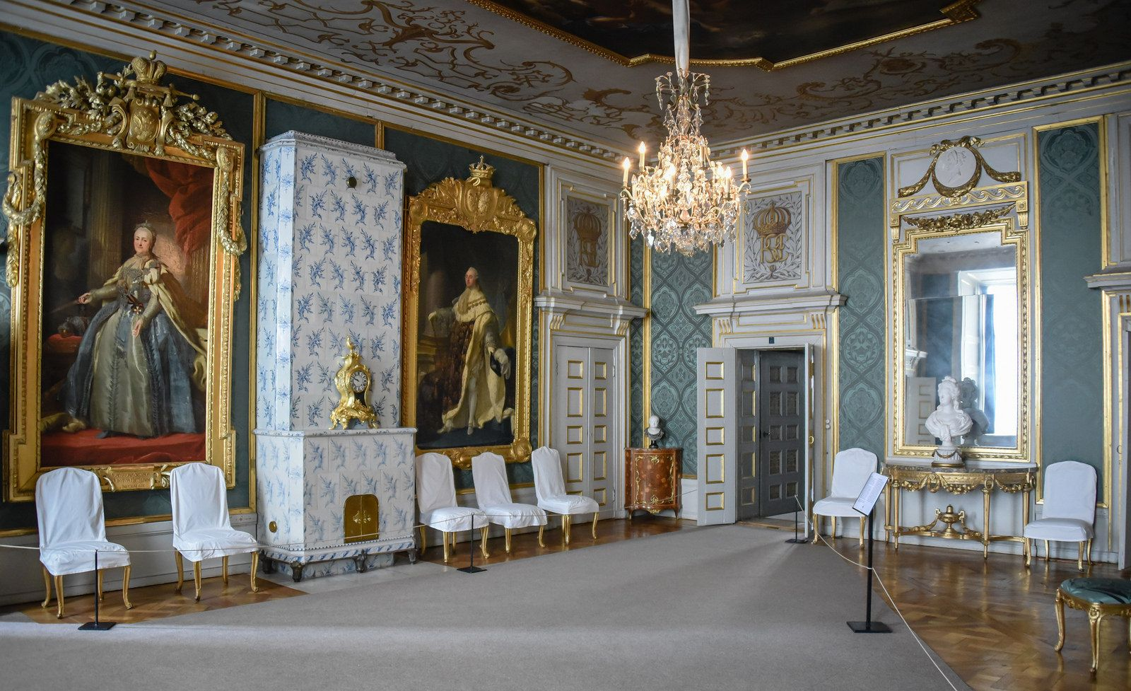 Swedish interiors french interiors royal residence empire style stockholm sweden royal