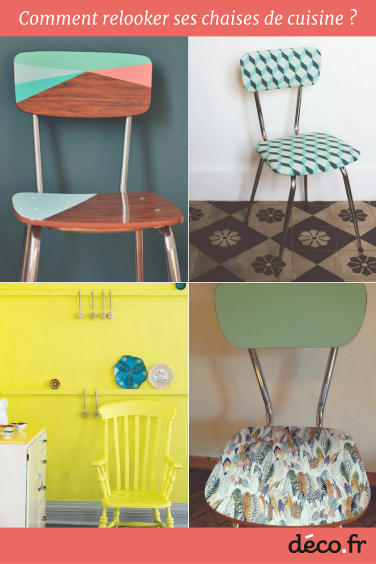 Comment relooker ses chaises de cuisine chaise cuisine - Relooker ses meubles de cuisine ...