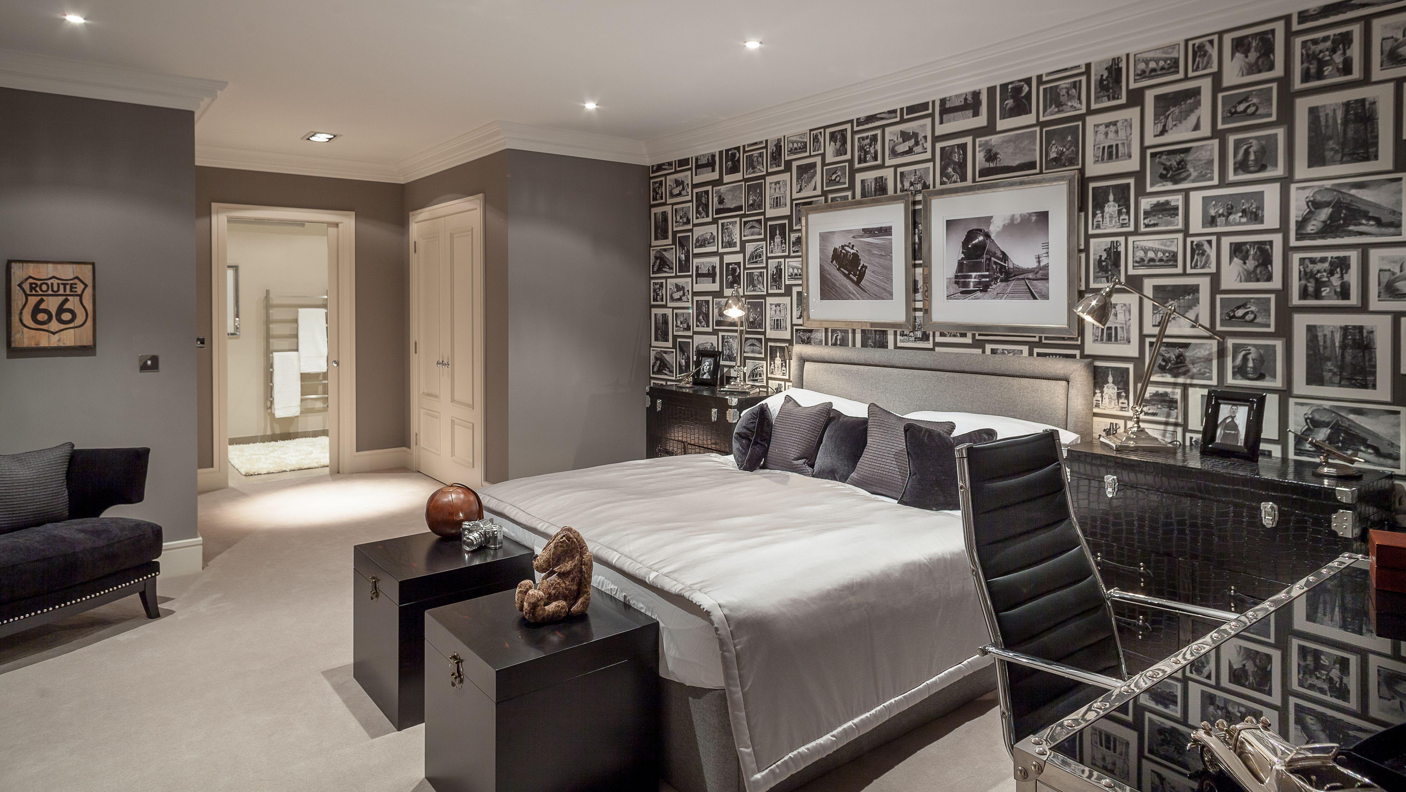 Teenage Boys Bedroom I Designed For Large House In Berkshire