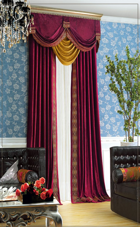 Brief Description Of Purple Italy Velvet Embroidered