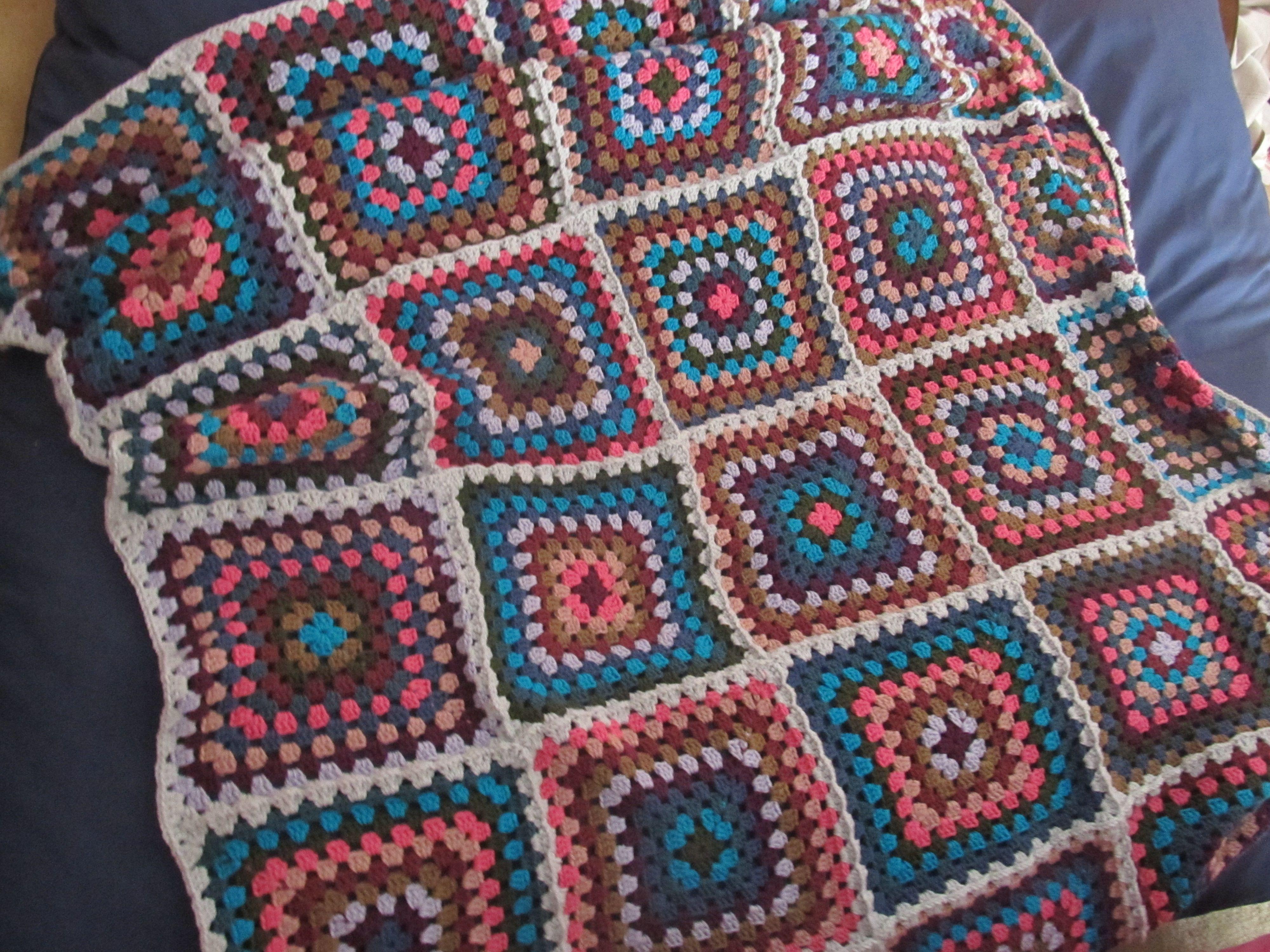 Crochet blanket i made for my boyfriends birthday