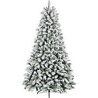 7ft Green Snowstorm Christmas Tree | Artificial christmas ...