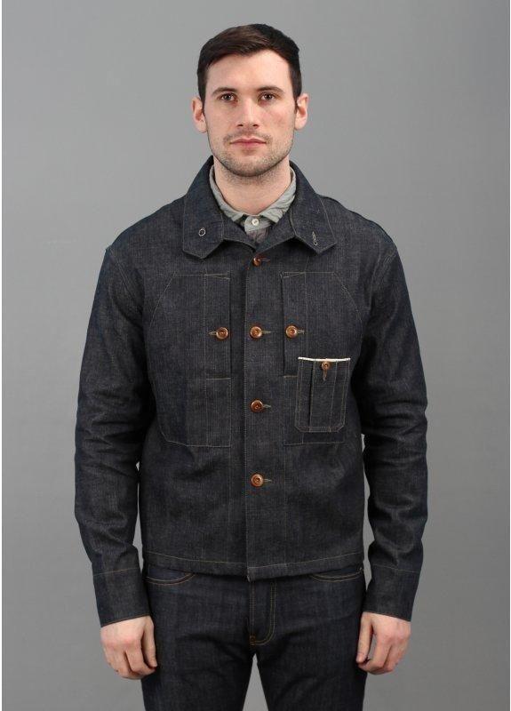 c345be51445b Nigel Cabourn Chest Pocket Shirt - Denim
