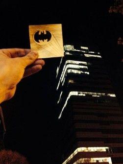 Máxima Creatividad en un pequeño Post-it - Batman