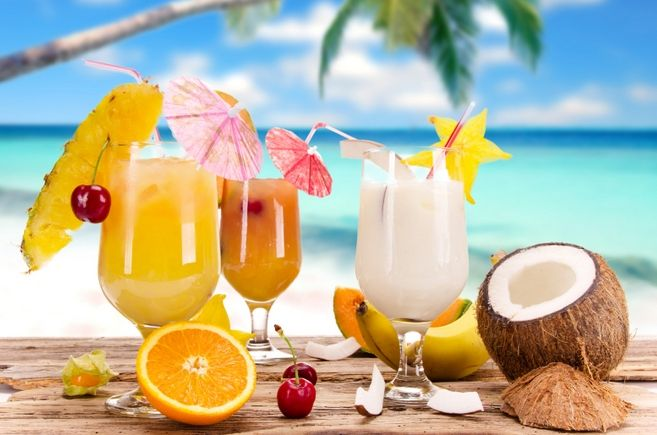 healthy veggie and fruit smoothies hawaiian fruit
