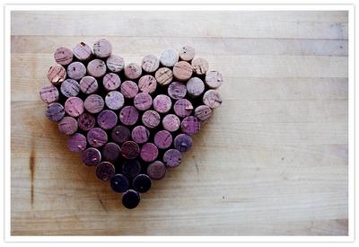 Cork heart! :)