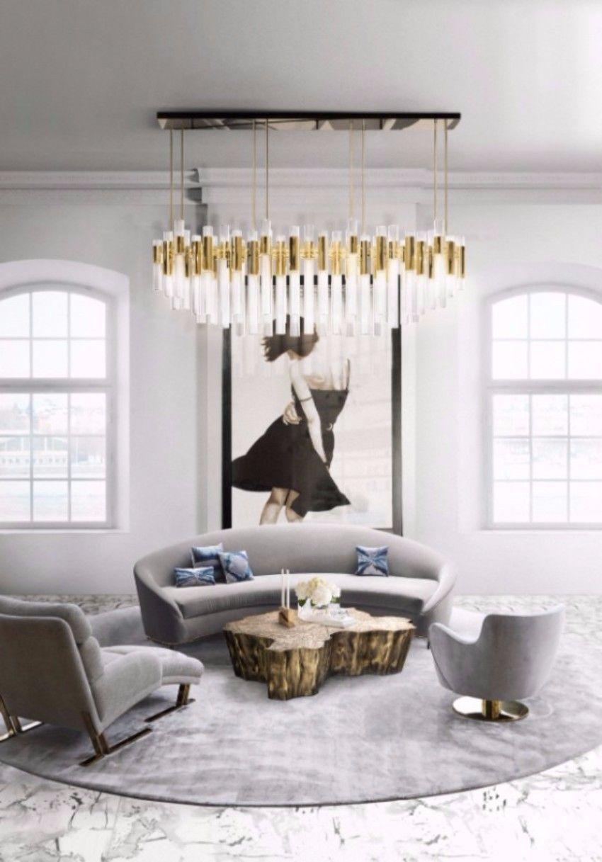 Top 50 beste Einrichtungsideen zu Luxus Wohnzimmer Dekor- Teil II ...