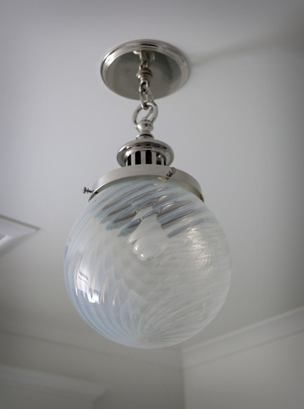 antique bath light fixture. design by colleen knowles ...