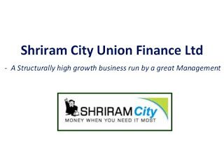 Share And Stock Market Tips Shriram City Union Finance Plans To