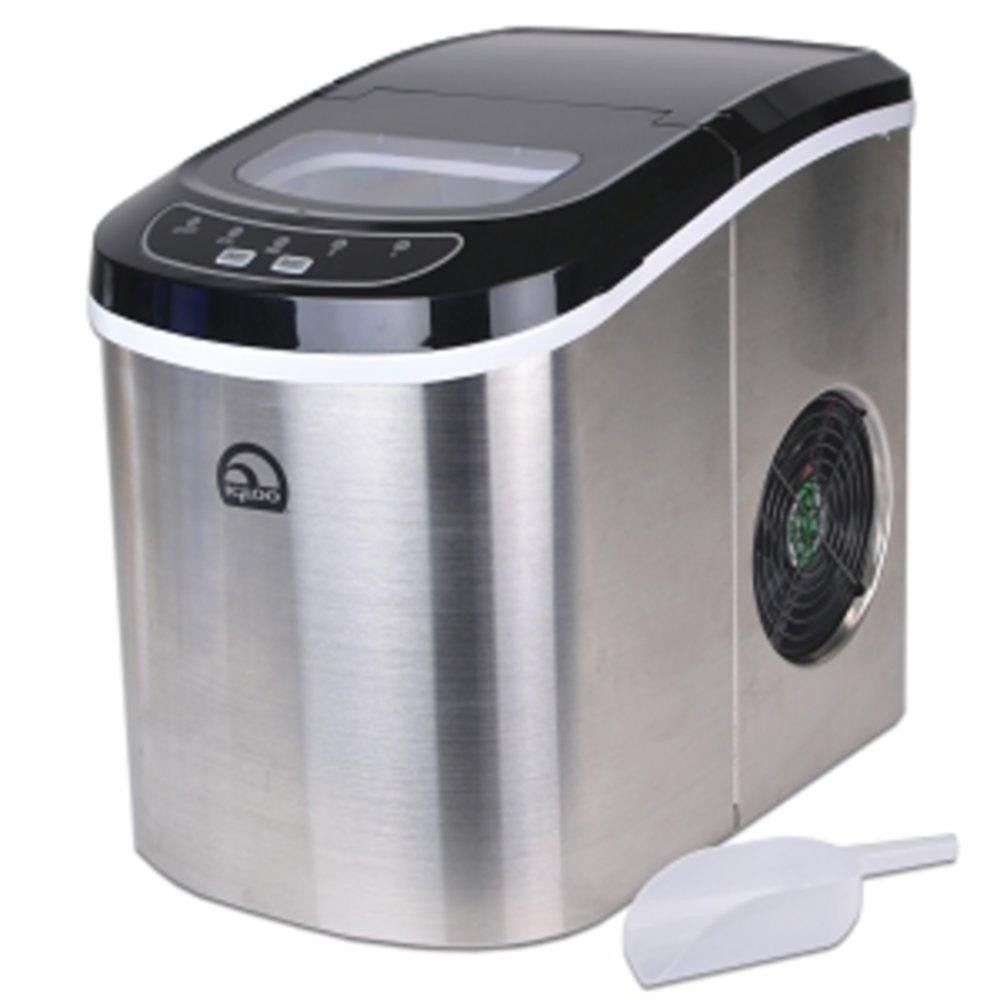 Igloo ice105 portable countertop ice maker stainless