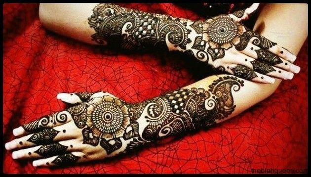 Modern Arabic Mehndi Designs 2014 : Arabic mehndi designs for hands modern latest hand