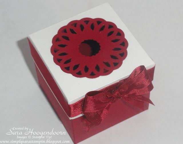Delicate Doilies Ornament Box