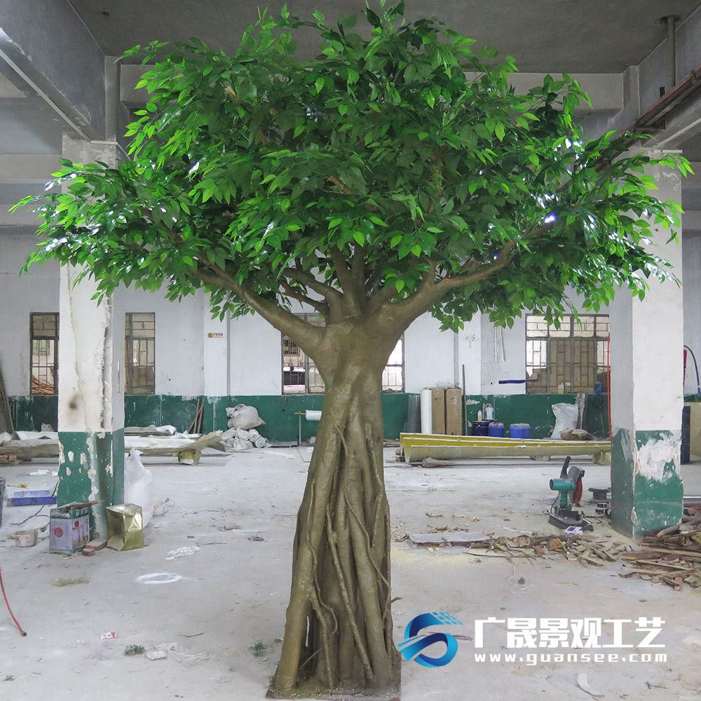 Fake Ficus Microcarpa Artificial Banyan Tree Huge Steel Plastic Material Outdoor X2f Indoor Gardon Decorations Find Complete Artificial Tree Tree Big Plants