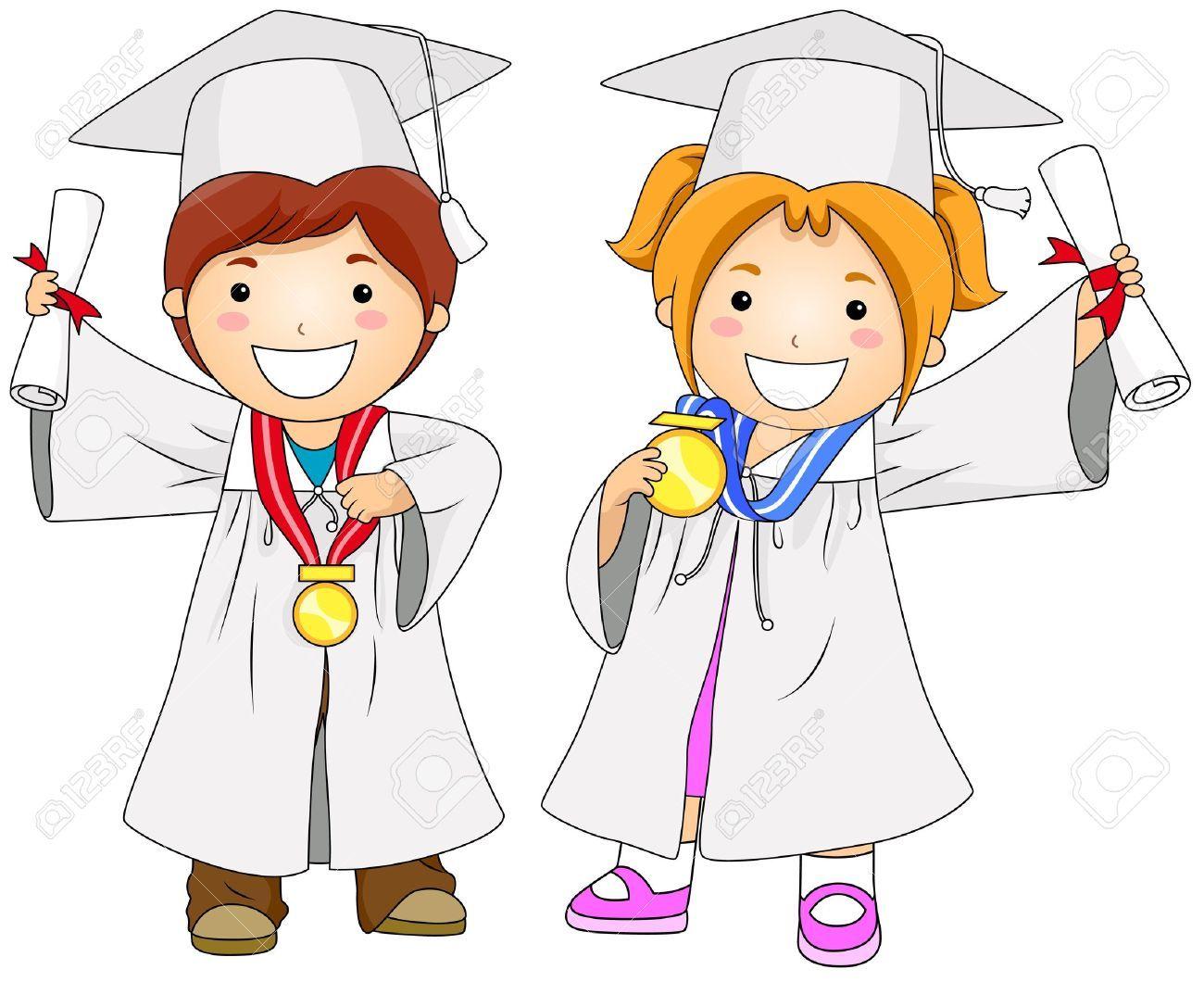 Graduació Dibujos De Graduacion Niños Graduados Y Dibujos