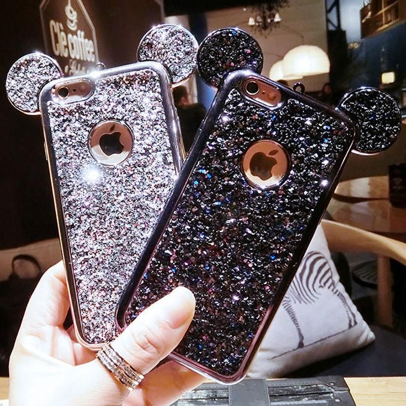 Glitter Mouse iPhone Case FAST Dispatch Accesorios