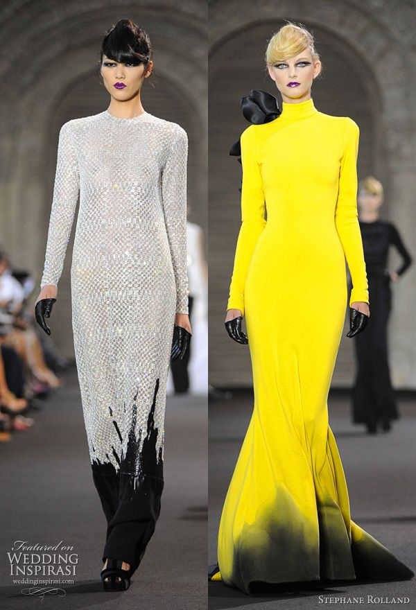 wedding & Planning Married: Stephane Rolland Fall 2011 Couture