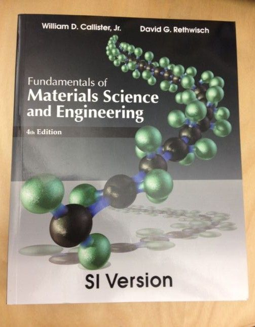 The New Edition Of The Best Selling Materials Science Book By