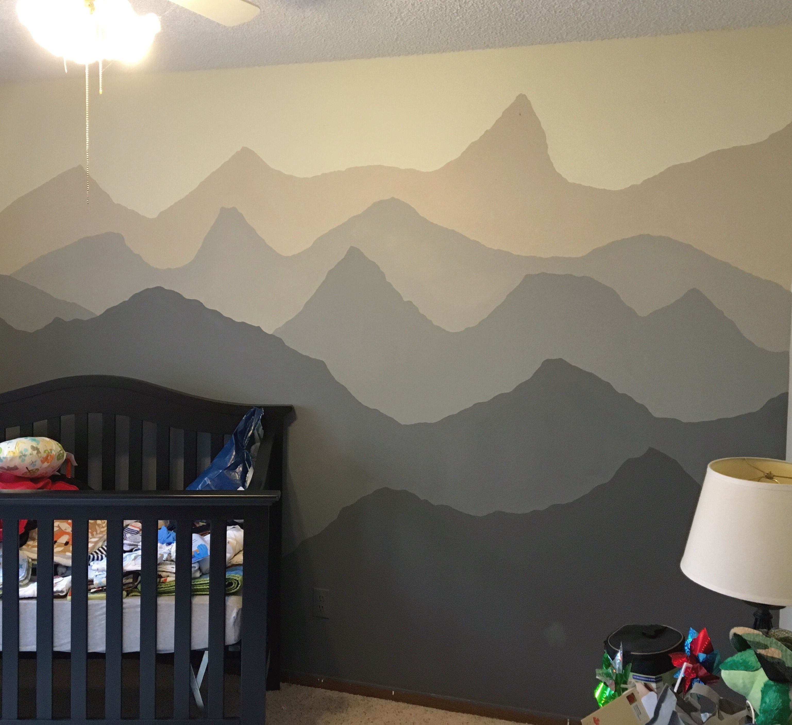 Diy Mountainscape To Compliment A Woodland Amp Mountain