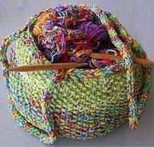 Free Knitting Pattern - Bags, Purses & Totes: Trio Knit Tote Bag