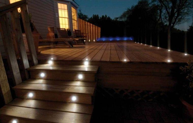 Lumiere Exterieur Pour Jardin Terrasse Et Balcon Un Jeu D