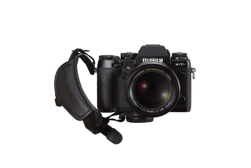 Fujifilm Finepix X-T1 - accessories - X-Series Grip Belt - on Camera