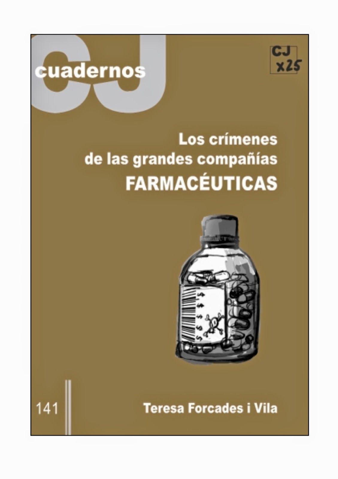 ALIMENTACION HOLISTICA: EL CRIMEN DE LAS EMPRESAS FARMACEUTICAS