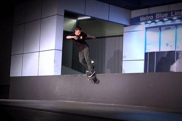 Mason Silva patina con fuerza y como pocos el skatepark de Berrics en su recruit.
