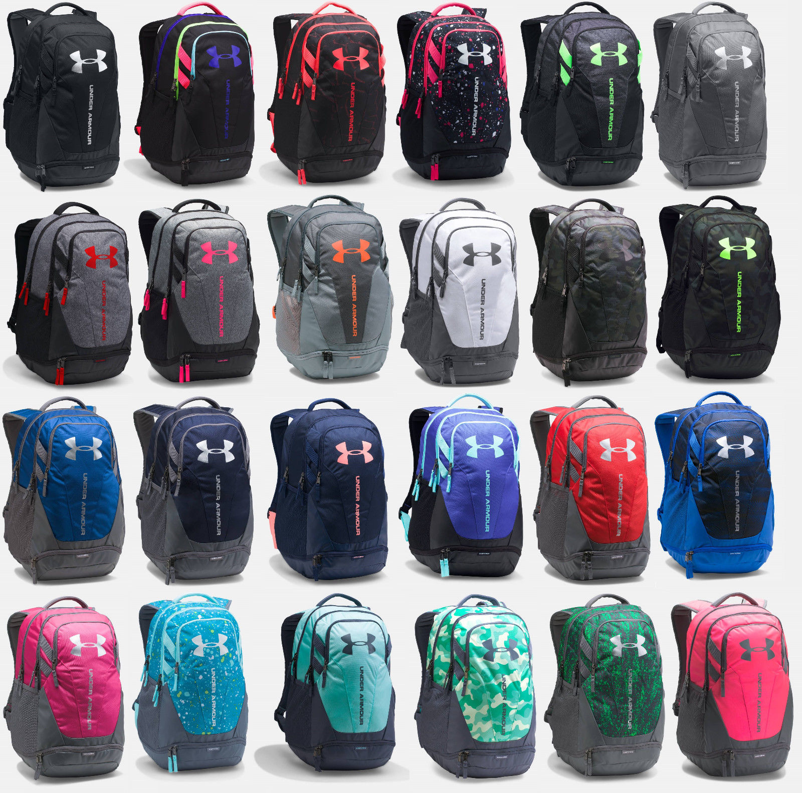 Under Armour Ua Storm Hustle 3.0 Backpack Back Pack Book Bag - Many Colors a68dc49576842