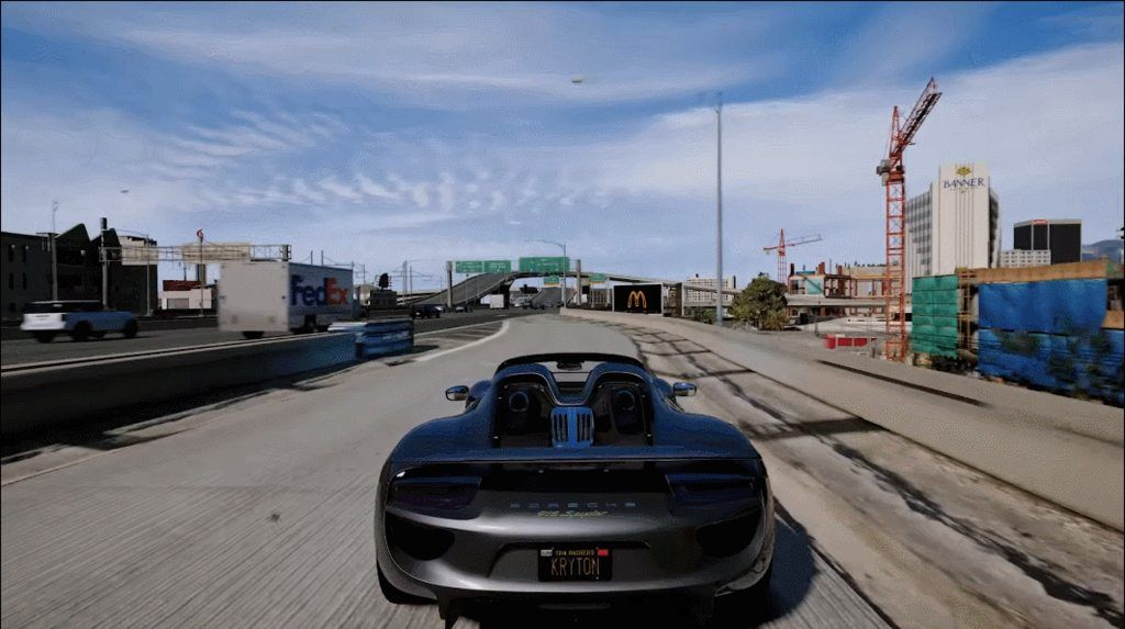 GTA V With Ultra Realistic Graphics Mod GrandTheftAutoV GTAV - Guy takes pictures showing just realistic grand theft auto v looks