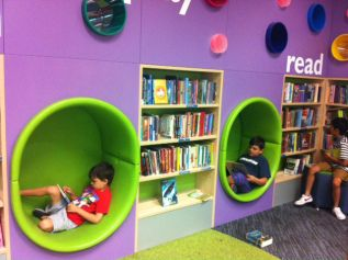 innovative kids room interior design ideas | innovative-library-design-for-children | Library seating ...
