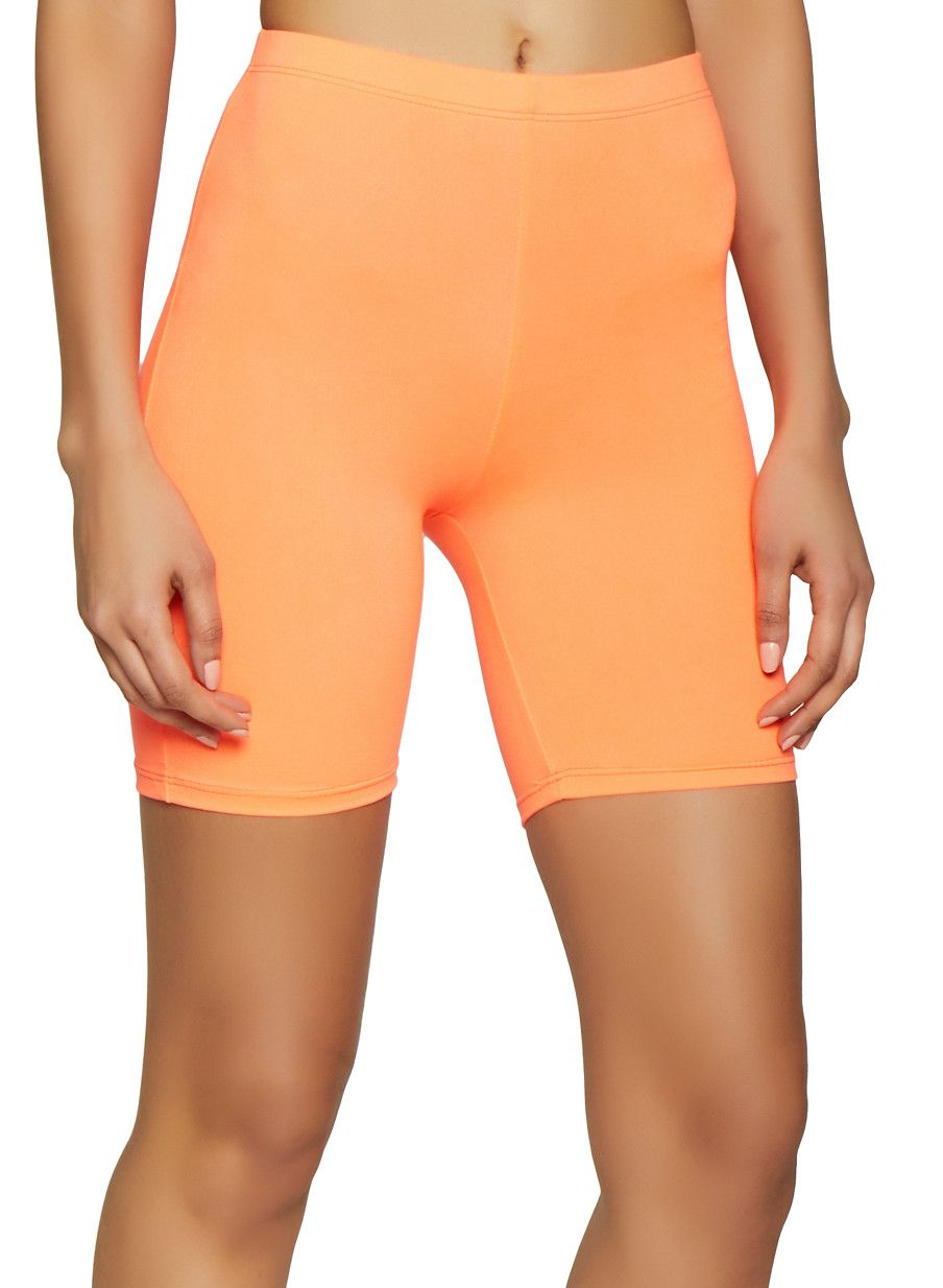 558d29c506 Neon Bike Shorts - Orange - Size L in 2019