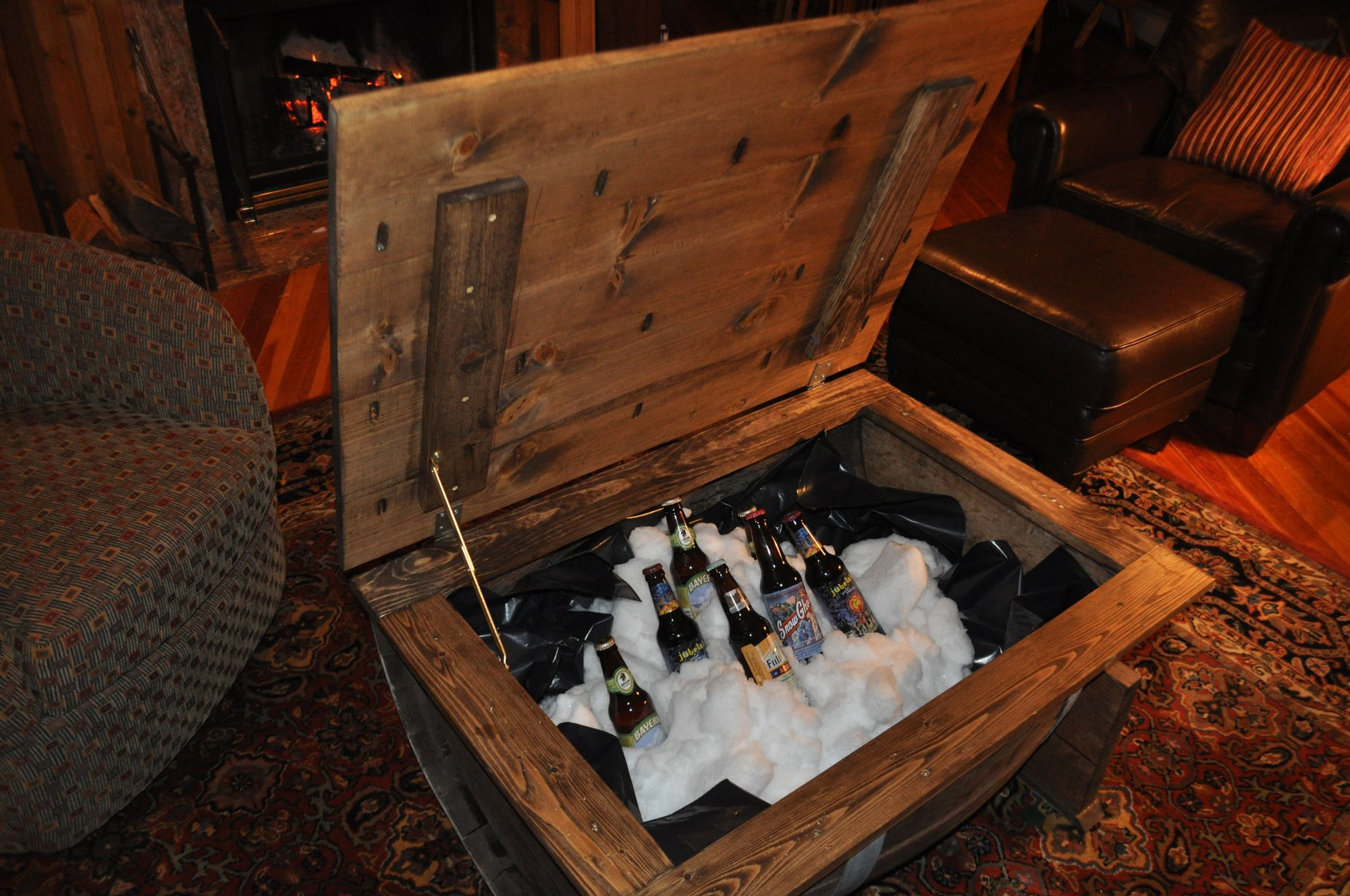 How to make a Whiskey Barrel Cooler DIY Projects