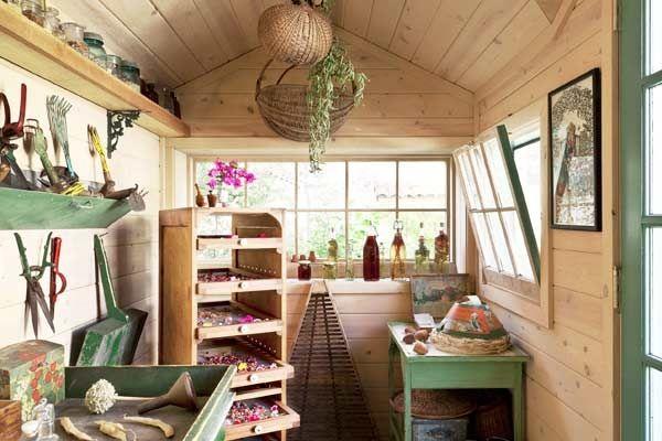 Sensational Backyard Sheds | Shed interior, Backyard sheds ...