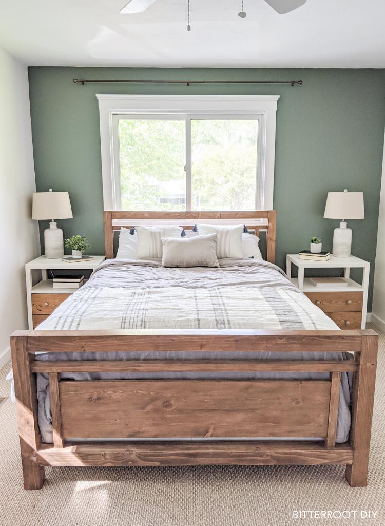 Diy Modern Farmhouse Bed Diy Furniture Bedroom Bedroom Diy Modern Farmhouse Diy