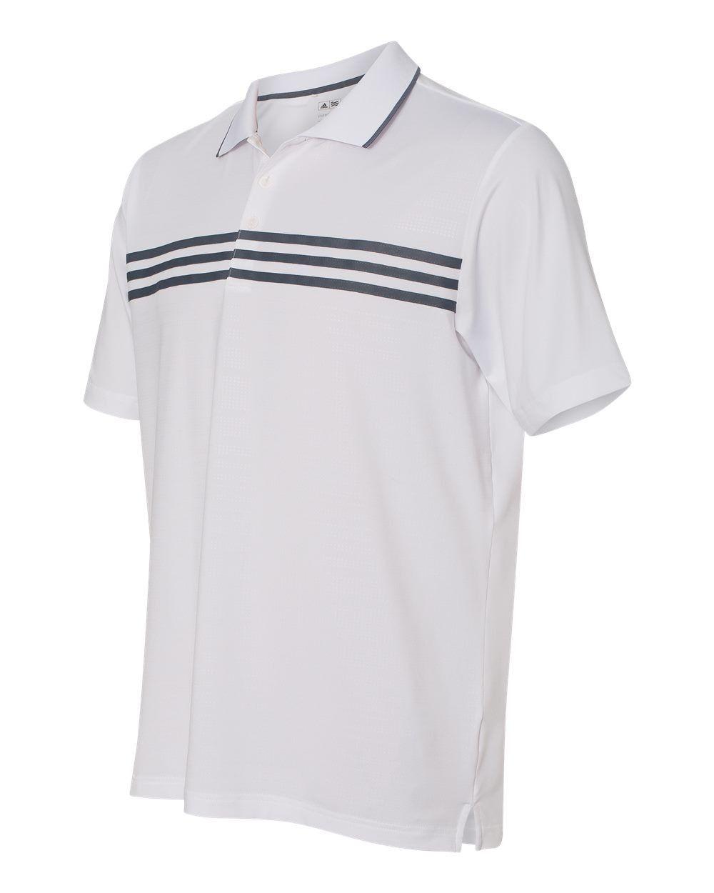 cf82b648330f7 adidas - Golf Puremotion Three Stripe Chest Polo - A124 | Stu shirt ...