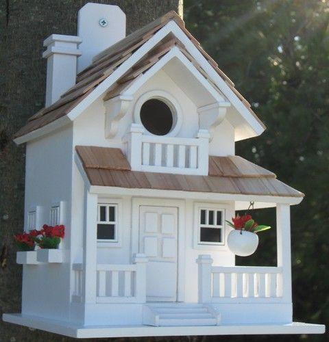 Fancy Birdhouses Backyard Cottage Decorative Bird House