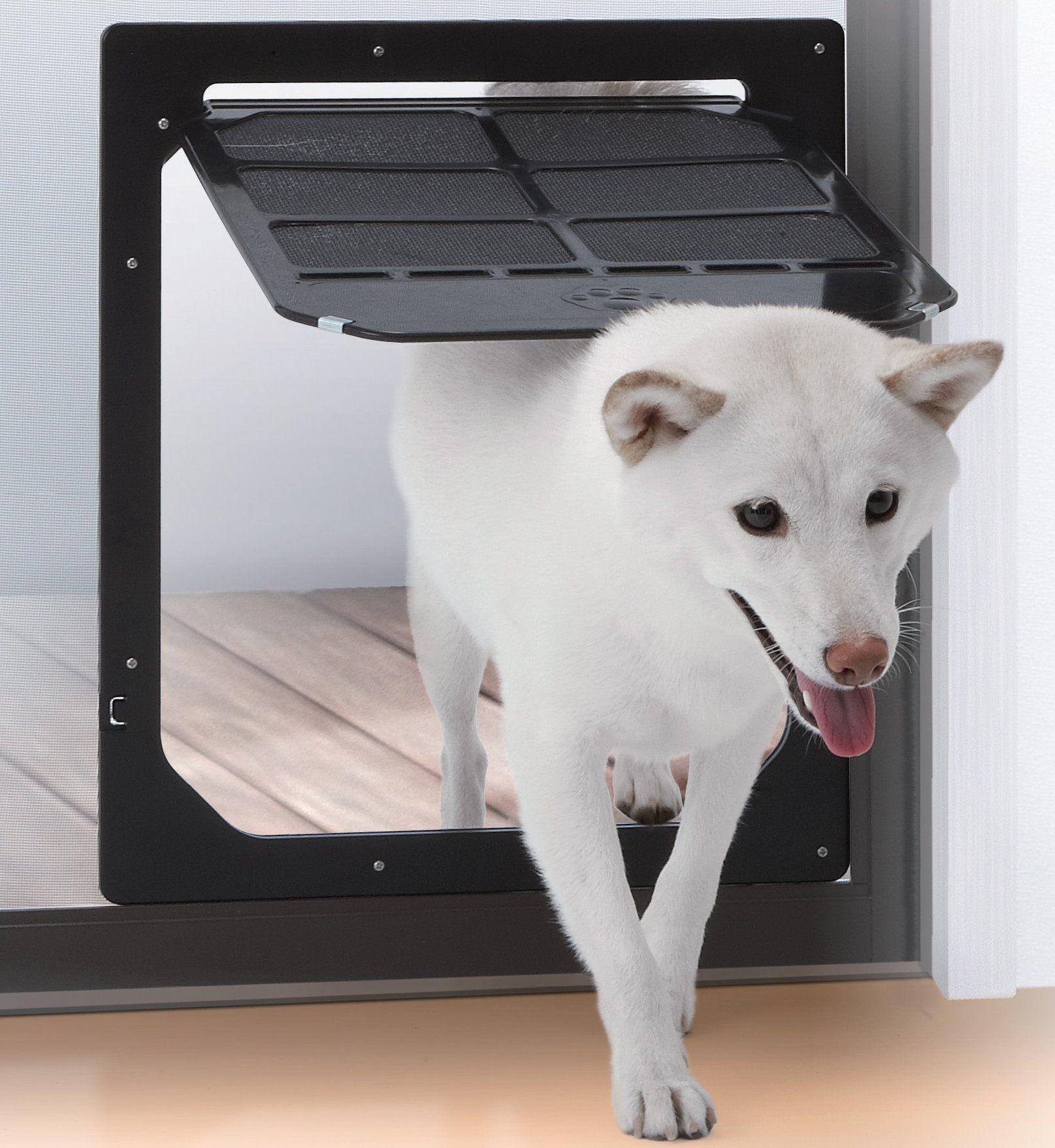 Takara Industry Pet Dog Door For Screens Mediumlarge Animals